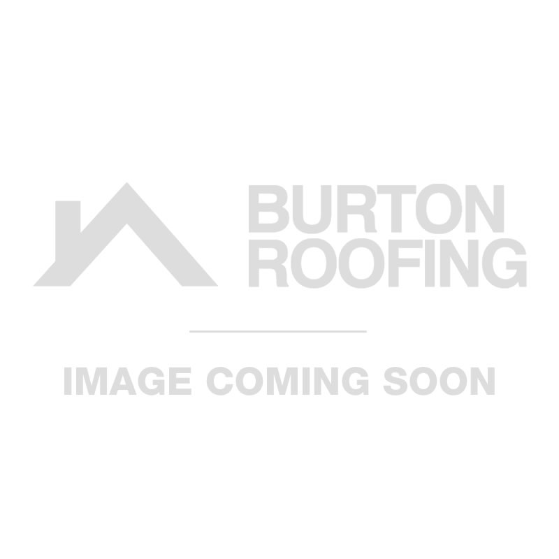 FloPlast Half Round PVC To Half Round Cast Iron Adaptor - Brown
