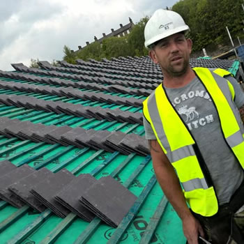 Slates hit new heights in Slaithwaite!