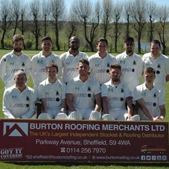 Burton Roofing sponsor 2015 Treeton Cricket Season