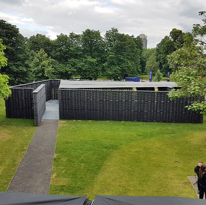 Condron Double Pantiles create a double take at the Serpentine Pavilion 2018!