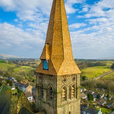 Shingles In-Spire Church Renovation