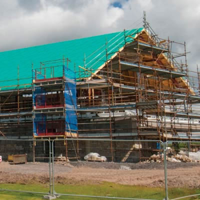 Roofshield chosen for golf centre extension at Carnoustie