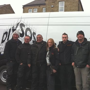 We proudly support BBC DIY SOS 'The Big Build'