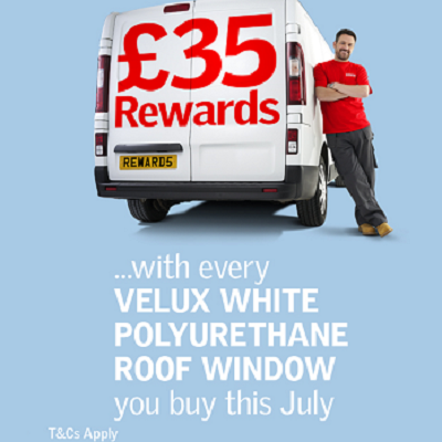 Bigger rewards this summer from VELUX