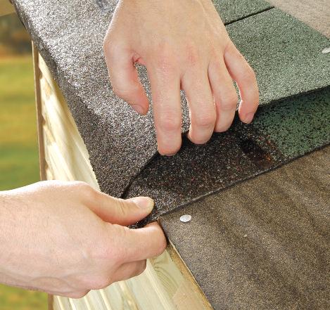Fixing Felt Roof Shingles